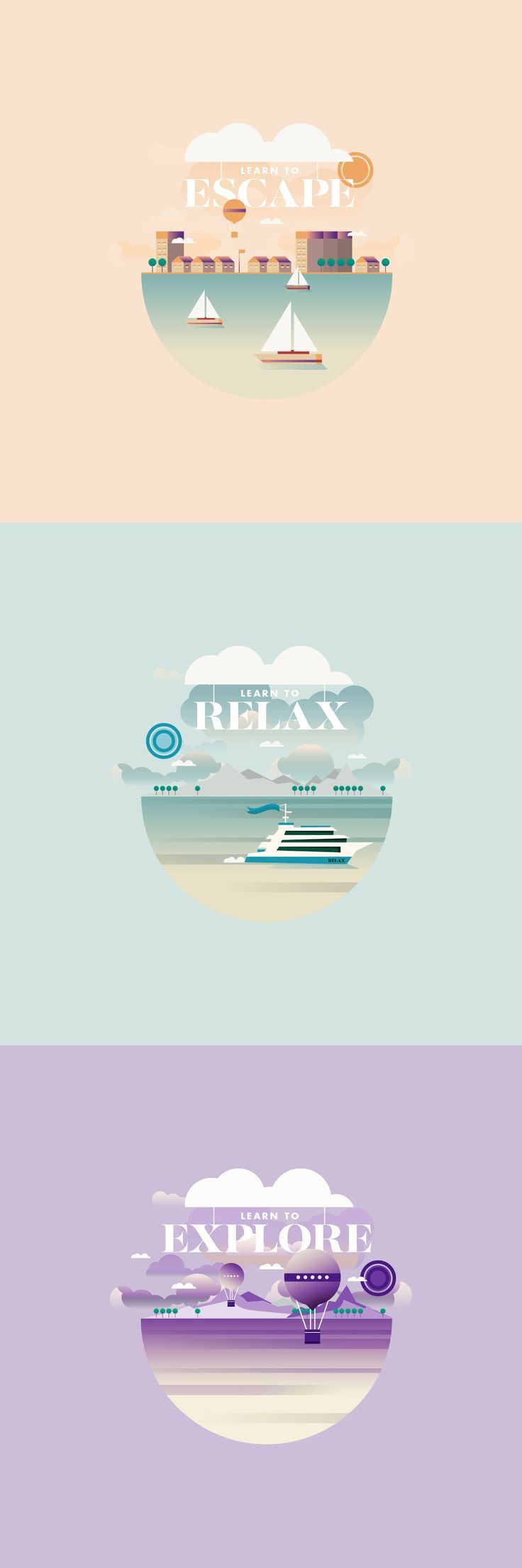 Relax // Climate App on Behance
