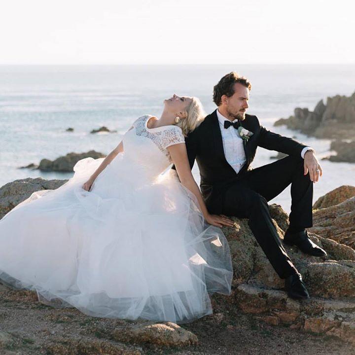 One of the most picturesque places we have ever seen and the Kennedys. #fontanawedding #antonwelt #weddingphotographer #destinationweddingphotographer #wedding #couple #love #seashore #jerseywedding #jersey #kennedys