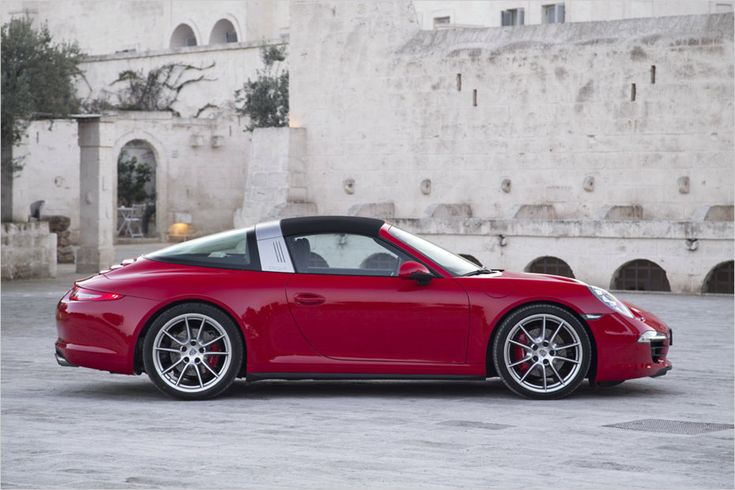 Porsche 911 Targa 4S -- I haven't wanted a Porsche made past the 80's for as long as I can remember. I'm starting to rethink that now.