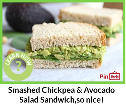 Smashed Chickpea & Avocado Salad Sandwich... 1. Rinse and drain the ...