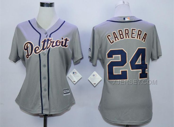 http://www.xjersey.com/tigers-24-miguel-cabrera-grey-women-new-cool-base-jersey.html TIGERS 24 MIGUEL CABRERA GREY WOMEN NEW COOL BASE JERSEY Only $35.00 , Free Shipping!