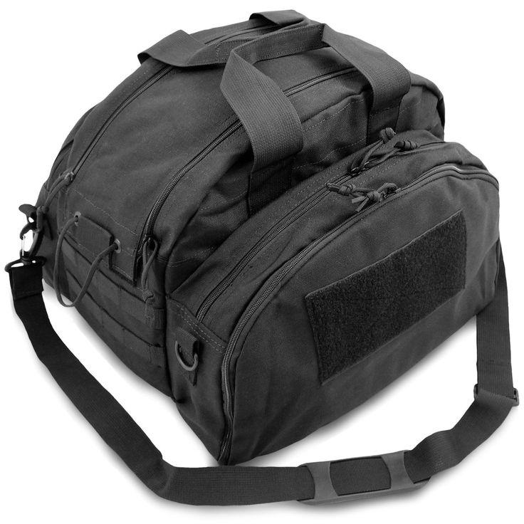 Bulldog Patrol Tactical Duty Police Kit Gear Shoulder Bag Holdall Carryall Black | eBay