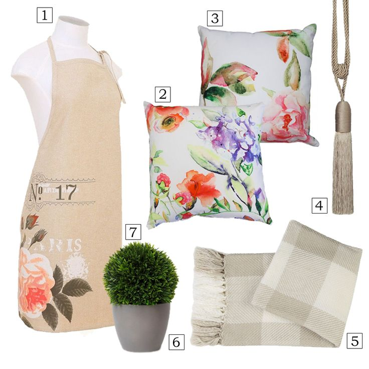 Pretty Florals, Mother's Day Inspiration, Gift ideas, Harvey Furnishings