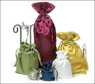 Our satin pouches are great for adding a touch of class to your products. Perfect for any occasion, each pouch has a matching colour drawstring ribbon.