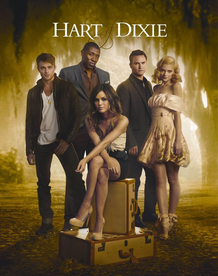 Hart of Dixie. I love this show...my current first world problem is that our U-verse for some reason does not get the CW and I have to watch new episodes online. Poor, poor me, with my tv watching problems.