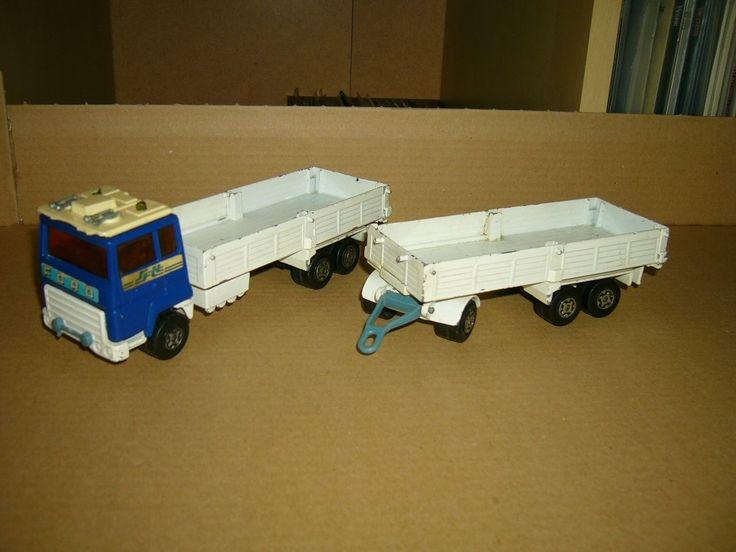 MATCHBOX-LESNEY  Super Kings Ford Transcontinental Hängerzug Pritsche , ca. 1-50 | Jouets et jeux, Véhicules miniatures, Voitures, camions et fourgons | eBay!