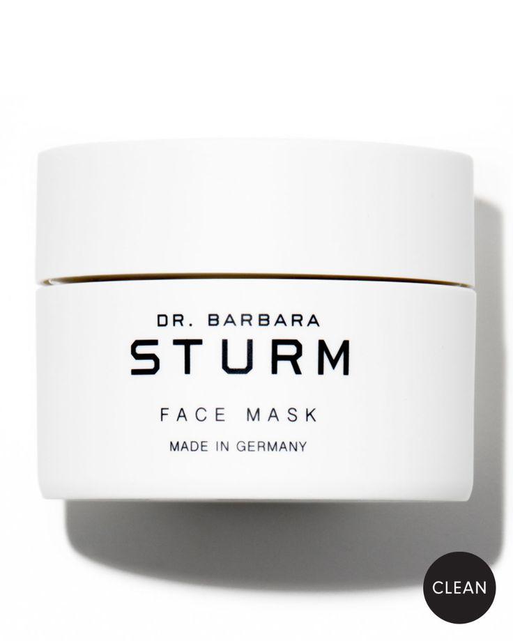 Dr. Barbara Sturm 1.7 oz. Face Mask | Neiman Marcus - Taryn Toomey's favorite Bandana, Barbara Sturm, Aloe Vera Mask, Mask Online, Christmas Nail Art, Fashion Face Mask, Mask Making, Cute Faces, Art Pages