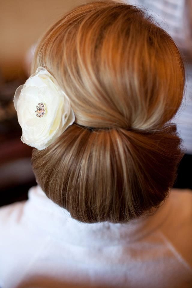 Wedding day hair for wedding #hairstyles and #hair advice visit us www.ukhairdressers.com