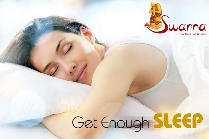 Most people need about 6 to 8 hours of sleep each night. Sleep is right up there with diet and ‪#‎exercise‬ as an important part of ‪#‎health‬ and ‪#‎wellness‬. Sleep is natural, healing, and restorative.  ‪#‎Swarnathaispajaipur‬ ‪#‎Spa‬ ‪#‎Jaipur‬ visit us at http://swarnathaispa.co.in/