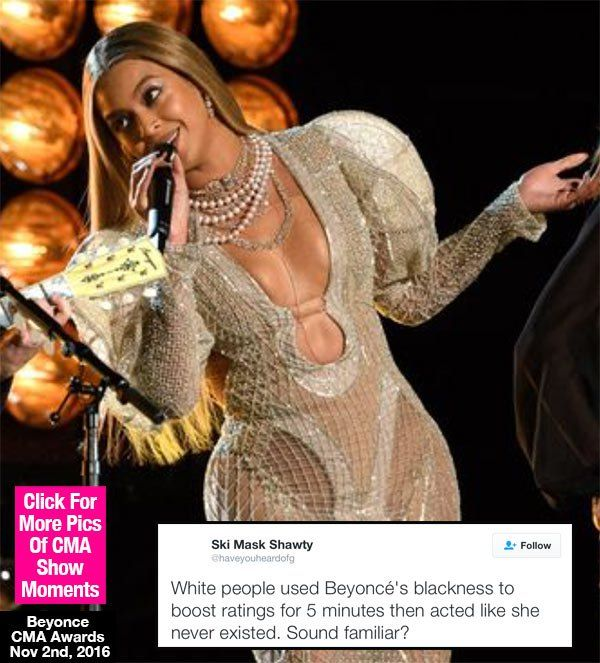 Beyonce Betrayed By CMA Awards? — Fans FURIOUS: You Used Her For Ratings - Hollywood Life