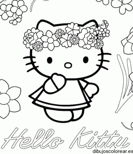 54 best Hello kitty images on Pinterest  Hello kitty coloring