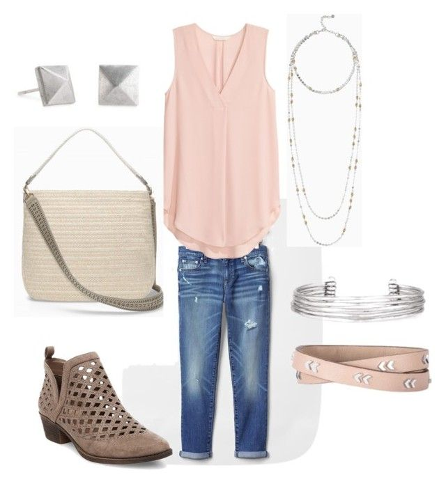 """Step Into Spring"" by meldafig on Polyvore featuring Gap, Stella & Dot and Mossimo Supply Co."