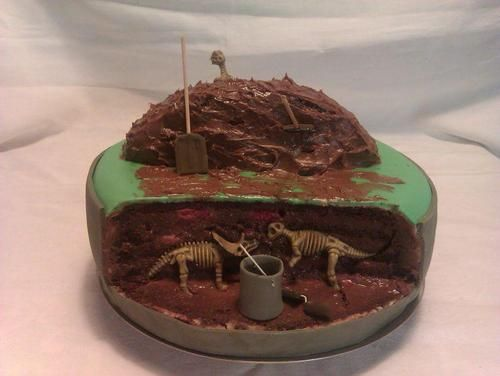 Archaeology cake