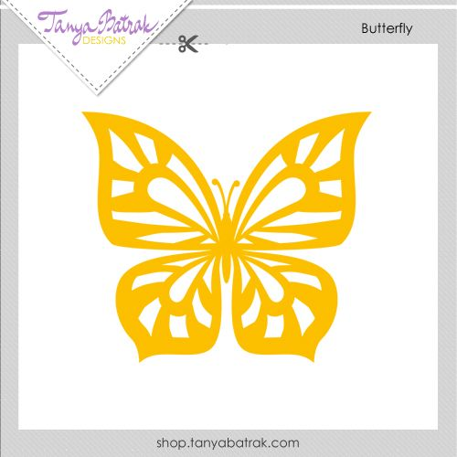 Butterfly Free SVG cut file