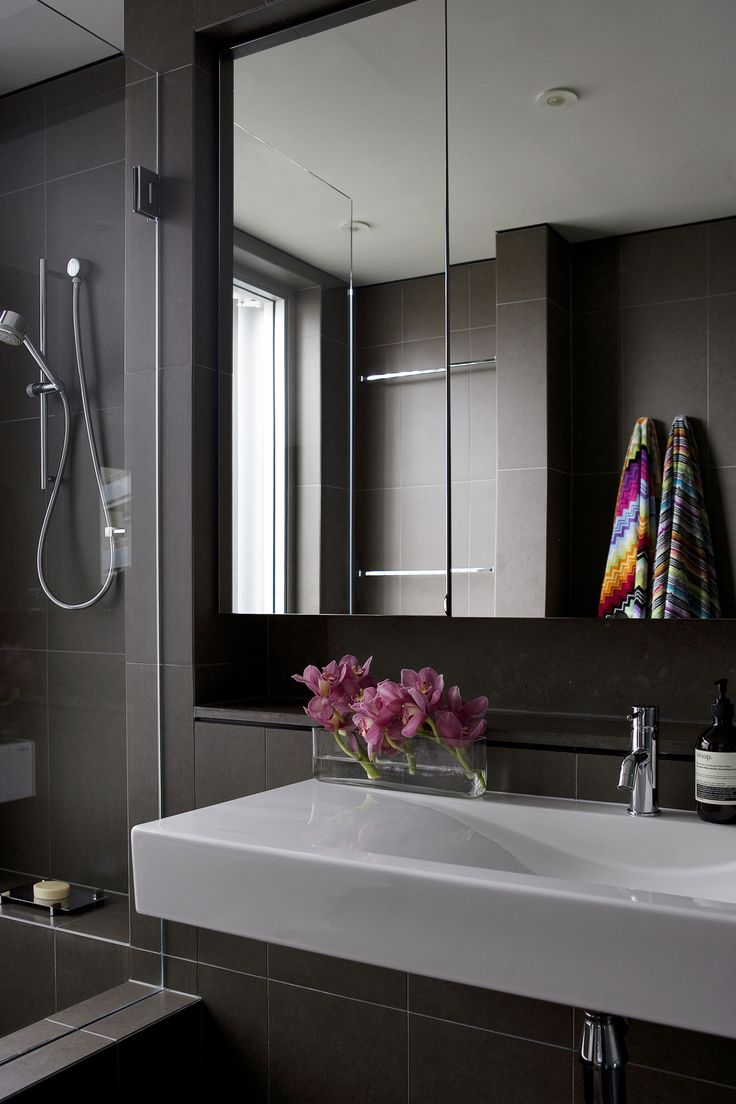 Alexandra Kidd Design Greenknowe Avenue Project Ensuite Detail