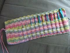 Crochet Flower Pattern Rose By Rachel Choi : 40 best images about Crochet Hook Holder on Pinterest ...