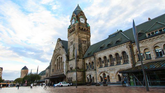 Metz a été élue plus belle gare de France par les internautes.