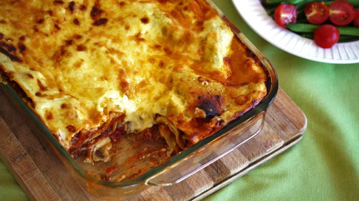 Lasagne | a Julie Goodwin recipe - this reheats beautifully and is one of the few pasta dishes that freezes and defrosts well.
