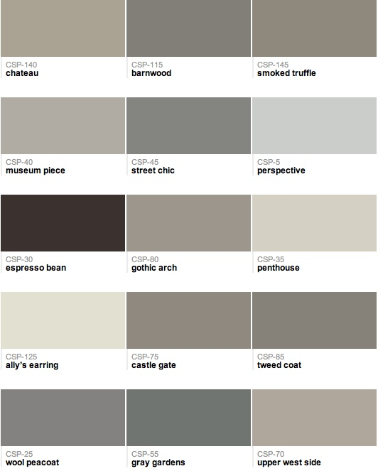93 best shades of gray, pewter,silver, taupe, or a pop of color