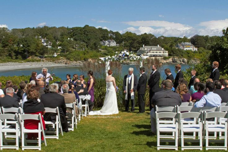 Stage Neck Inn York Harbor Me Offers A Wonderful Oceanfront Wedding Venue Overlooking Beach The Reading Room And Ev