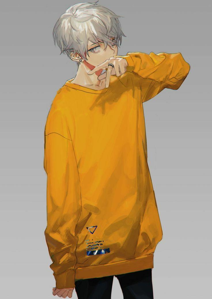 Anime Aesthetics Yellow Aesthetics In 2020 Anime Guys Anime Cute Anime Boy