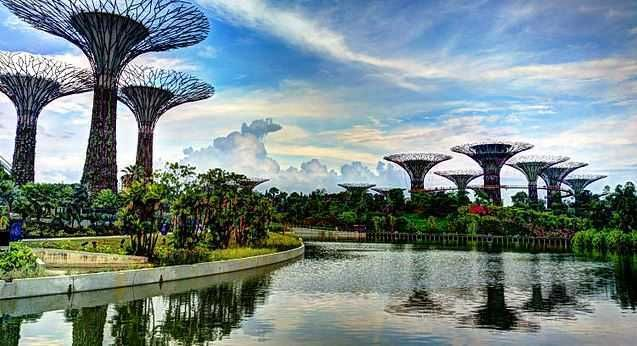 Gardens by the Bay, tourist spots in Singapore