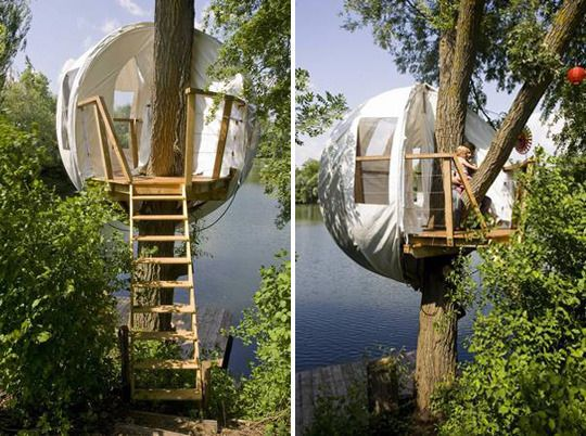 Living in a bubble usually isn't a good thing, but in the case of the dreamy BubbleTree tent, it could actually open you up to the outside world.