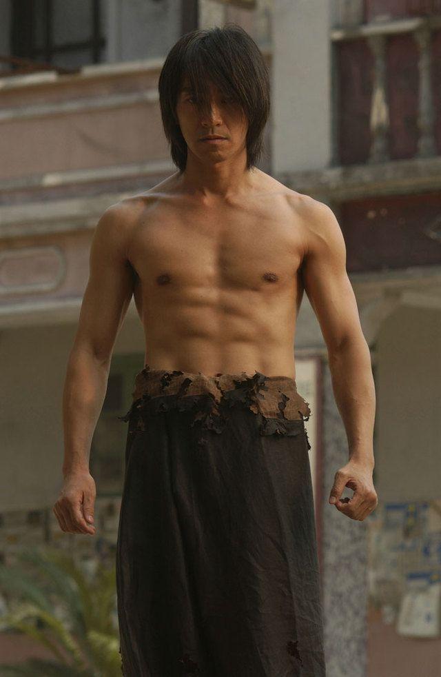 Kung Fu Hustle [2004] directed by Stephen Chow, starring Stephen Chow, Danny Chan, Yuen Wah, Yuen Qiu, and Eva Huang.