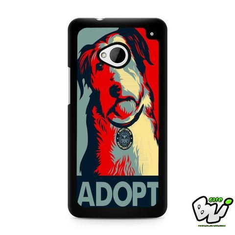 Adopt Dog HTC G21,HTC ONE X,HTC ONE S,HTC  M7, M8, M8 Mini, M9, M9 Plus,HTC Desire Case