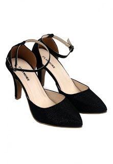 Jual sepatu wanita murah dan berkualitas: CLAYMORE Claymore High Heels BB-703 Black