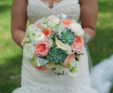 Succulents and Juliets Oh Ya! A Brea church wedding » Flower Allie Style