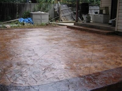 How To Stamp A Concrete Patio