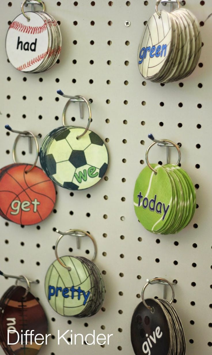 A Differentiated Kindergarten: The Editable, Incredible Sight Word Mastery System-Ball Words (and a Freebie)
