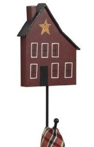 """Home Place Single Hook by HomePlace. $8.95. Home Place Single Hook 9-3/4"""" Tall x 5"""" Wide x 1-1/2"""" Deep Priced and sold individually.  Designed and manufactured by Park Designs."""