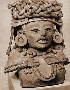 Urne funéraire zapotèque de la région d'Oaxaca (15 Ko)