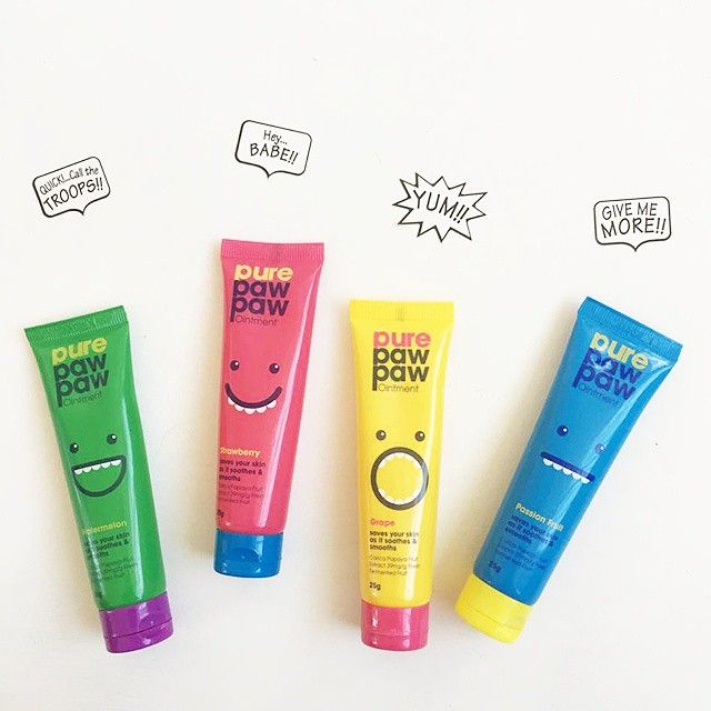 Hey girl, we've got the troops together to give you more of that yummy, fruity goodness! #purepawpaw #lol #yum #pawpaw