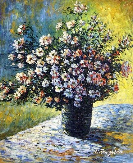 impressionism monet flowers - photo #8