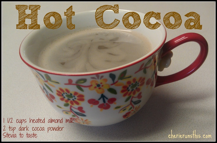 #cleaneating Hot Chocolate
