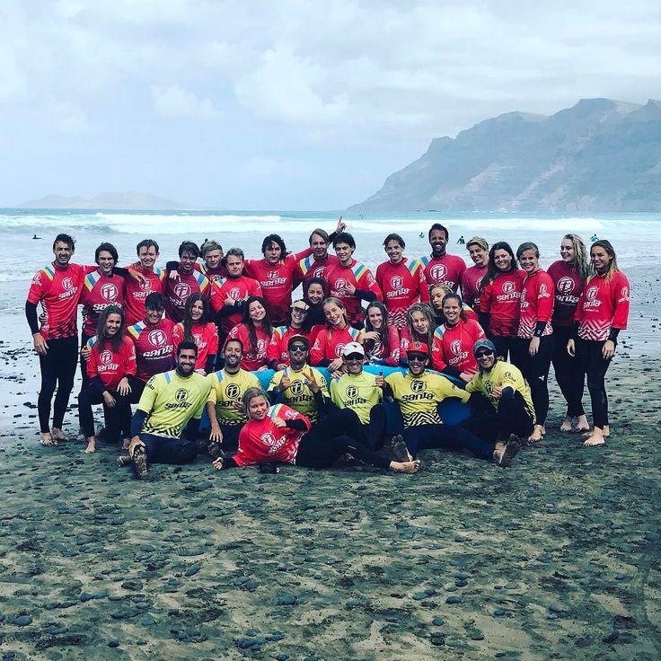 mange tak for denne vidunderlige gruppe på besøg fra Danmark til surf session på stranden ved Famara . Also thanks to all the team @lasantaprocenter for the mighty work http://ift.tt/SaUF9M #surfcamp #surflessons #thecanarysurfcompany #famara #famarabeach #denmark #people #lasantasurfschool #lasantaprocenter #lasantasurf #lasantasurfprocenter #surfholidays #surfcoach #surf #surfbeach #surfbeginner #longboard #surfboards #canaryislands #canarias #islascanarias #playa #surfteam #surfteamdays…