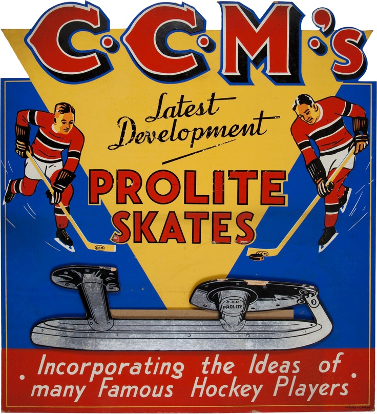 I have CCMs! I didn't say I could skate well, but I have CCMs!