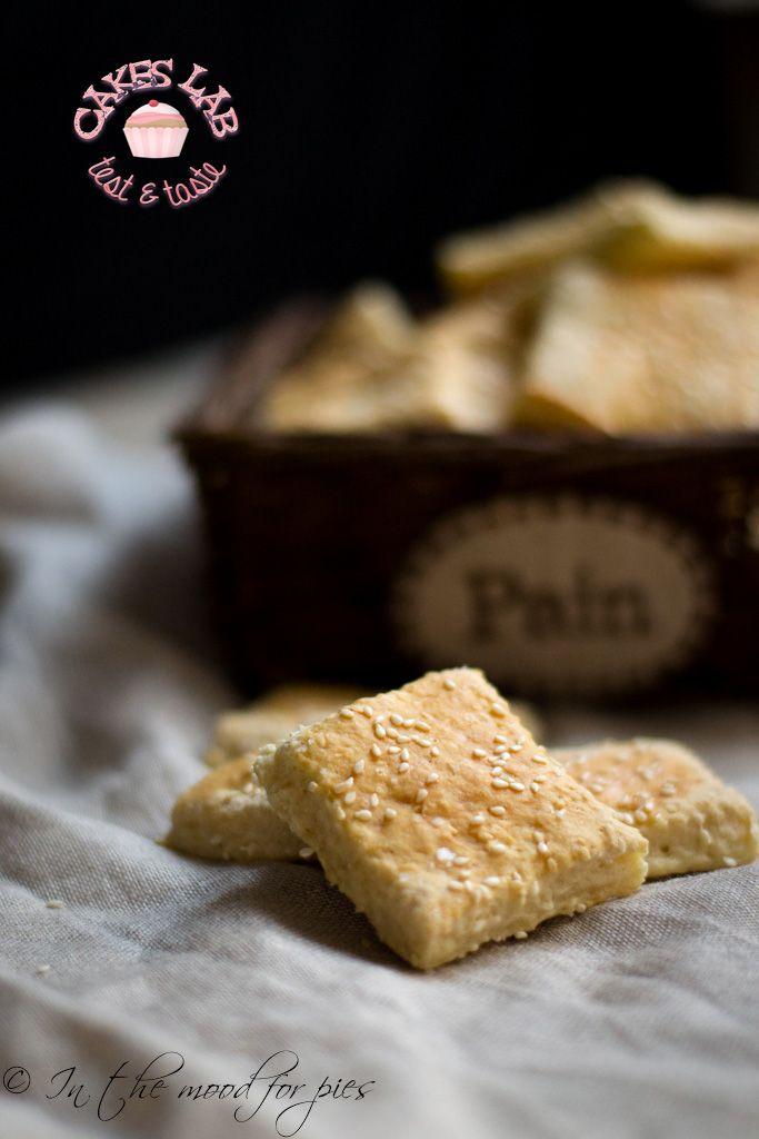 Cakes Lab Test&Taste: Cracker di sesamo alla birra