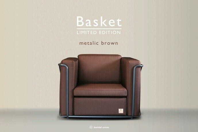 Bemiel Union_Basket Sofa Limited Edition#metalic brown#1p