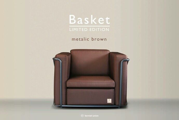 Bemiel Union_Basket Sofa Limited Edition#metalic brown#1p
