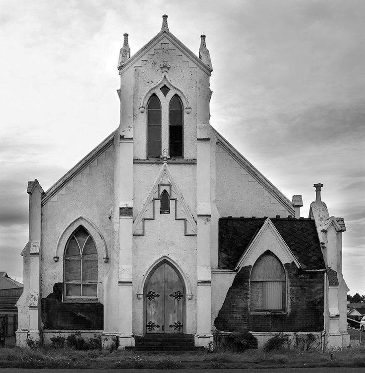Broken down Invercargill church