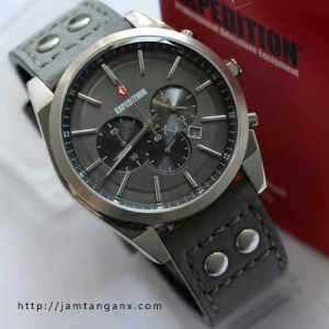 jam tangan expedition E6655 silver grey