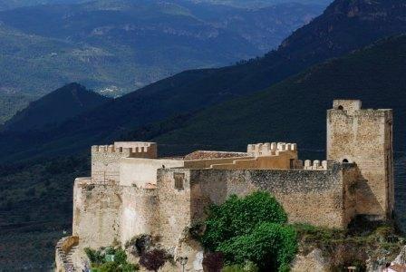 Castillo de Yeste Albacete Spain.