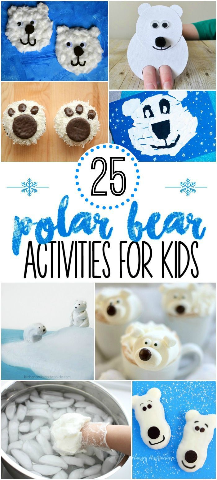 25 Polar Bear Activities For Kids Crafts Snacks And Learning Preschool