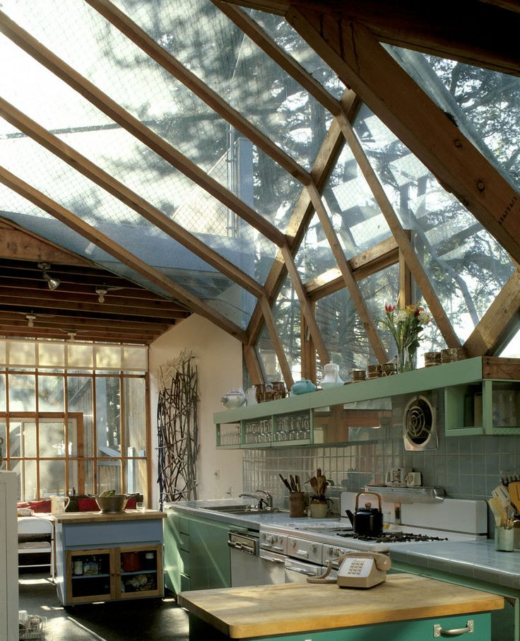 A kitchen to-die for: Frank O. Gehry-Gehry Residence