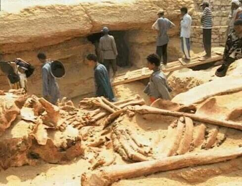 Nephilims and giants, Egypt