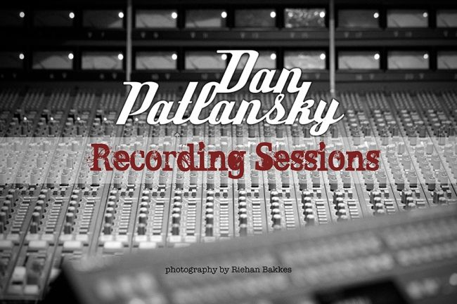 Dan Patlansky Recording Sessions 2015 at Belleville Studios. Album out 2016. Photos by Riehan Bakkes at www.bakkesimages.co.za.